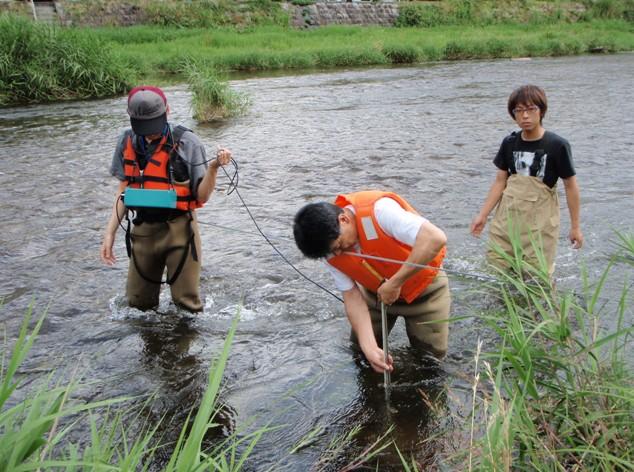 「エコリーダーコース」 テーマ1(河川環境)