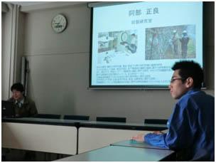 4日目は土木・環境グループの研修