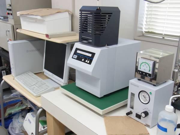 熱分析装置の研修を行いました
