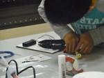 第20回イーハトーヴの科学と技術展 「簡単ICラジオを作ろう!」